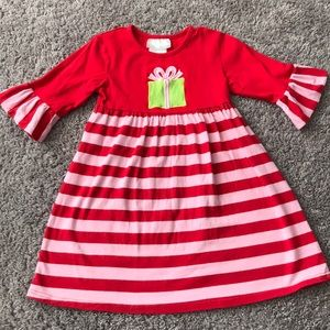 2ccdfdc639 Southern Tots Christmas present dress